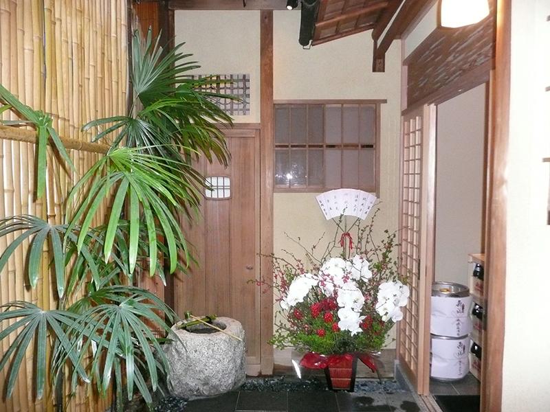 外観 場所:和食店(京都祇園)