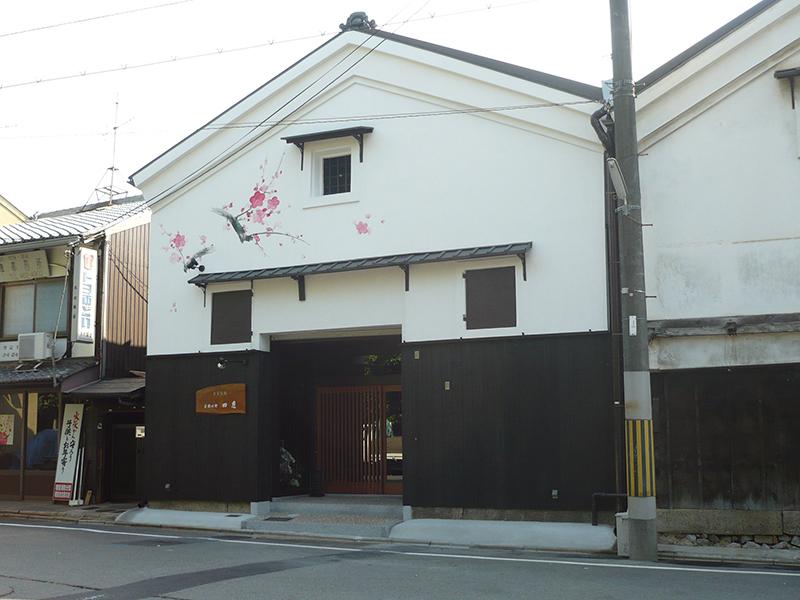 外観 場所:和食店(京都北野)